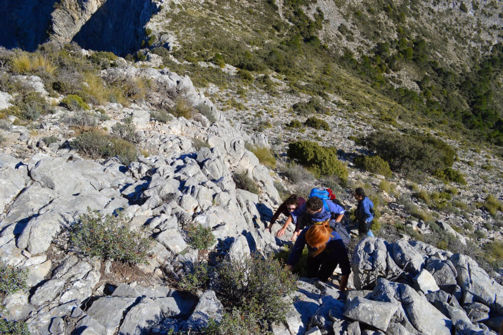 Getting to the top of Almendron