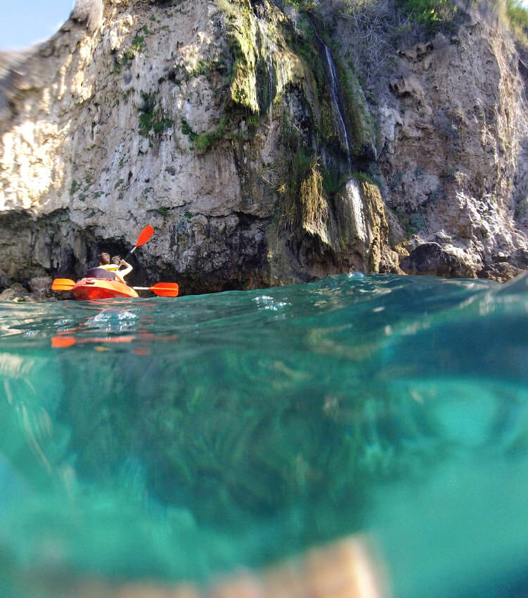 Kayaking Maro to Nerja