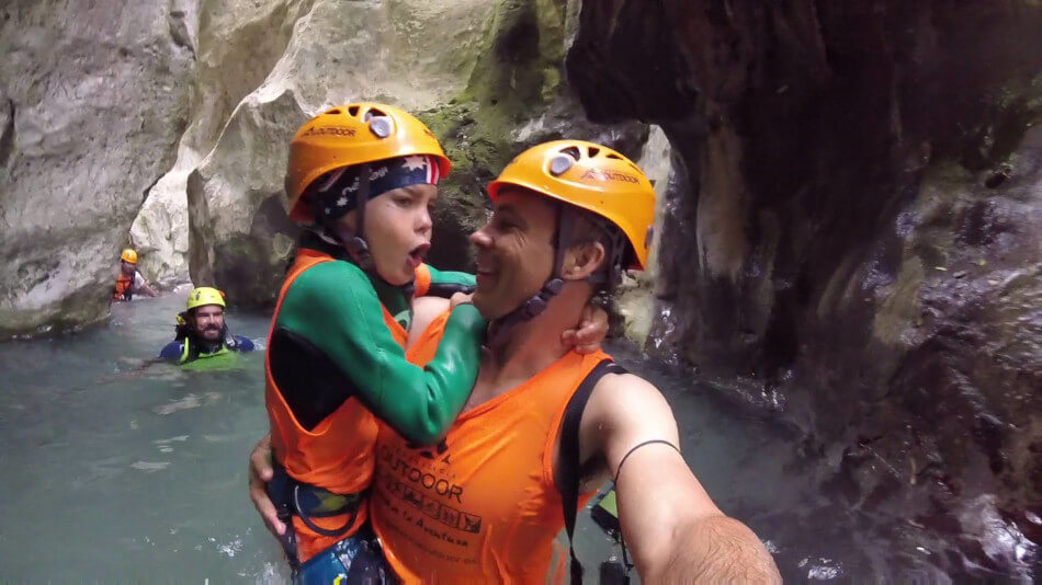 cold water canyoning andalucia