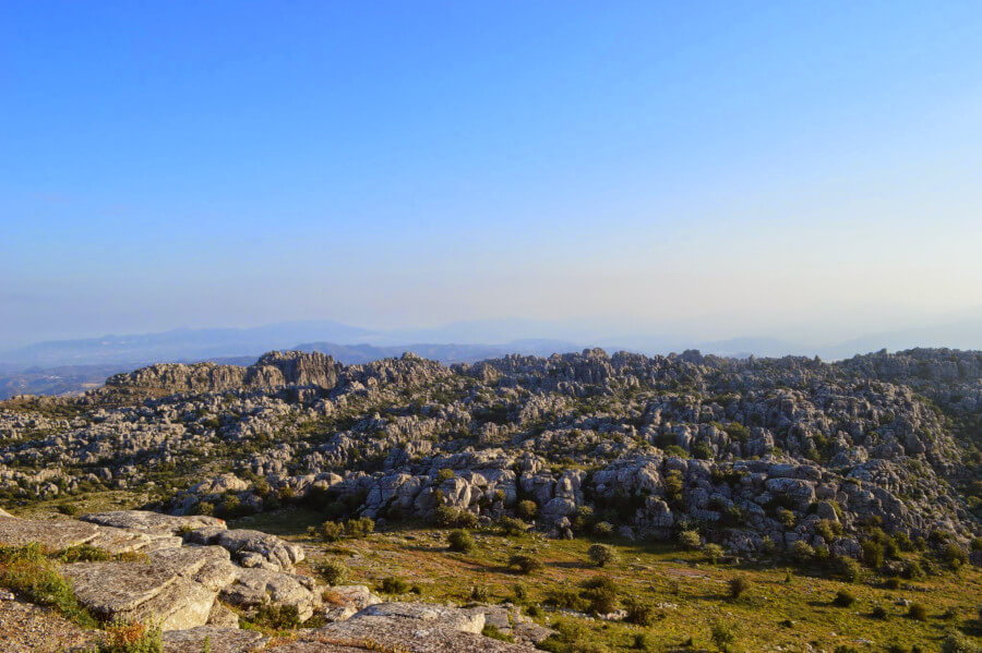 view of el torcal